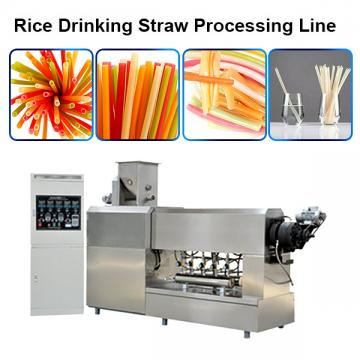Biodegradable Pasta Drinking Straw Making Machine / Processing Line / Machinery