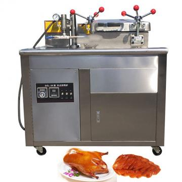 Large Capacity Commercail Stainless Steel Gas Fryer with Cabinet