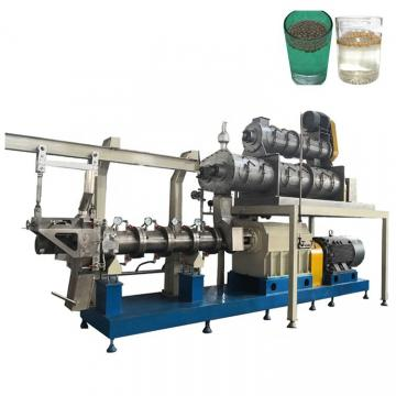 Automatic Twin Screw Fish Feed Pellet Processing Equipment Price