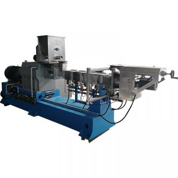 Grains Basing Puffed Floating Fish Feed Extrusion Production Line
