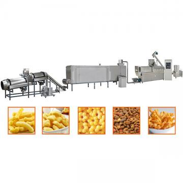 Sweet Corn Puffs Cereals Sticks Snacks Cheese Ball Making Machine Breakfast Cereals Corn Flakes Production Machine