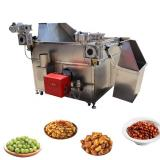 Continuous Snack Food Fryer Chicken Deep Automatic Discharge Fryer