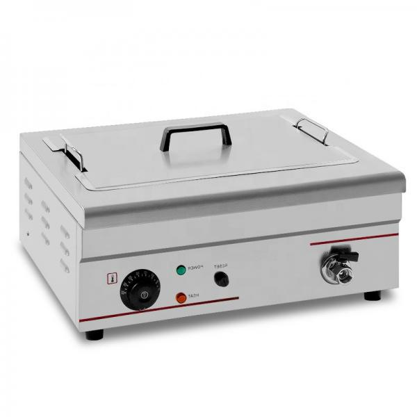 New Commercial Oil-Water Separation Electric Fryer Gas Fryer Electric Frying Pan Single Cylinder Commercial Large Capacity Fried Fritters Machine China Fryer #1 image