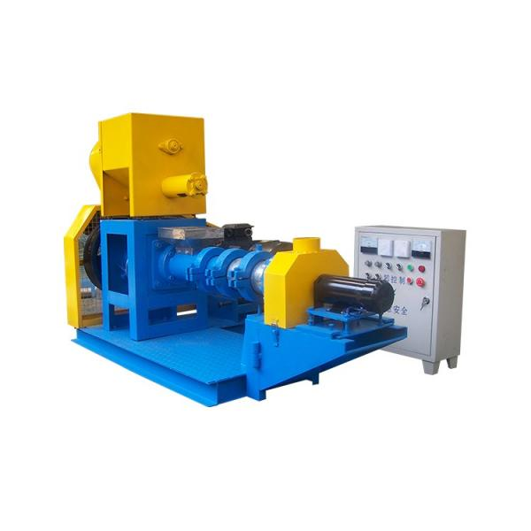 Floating Fish/Animal/Poultry/Cattle Feed Pellet Mill Machine #1 image