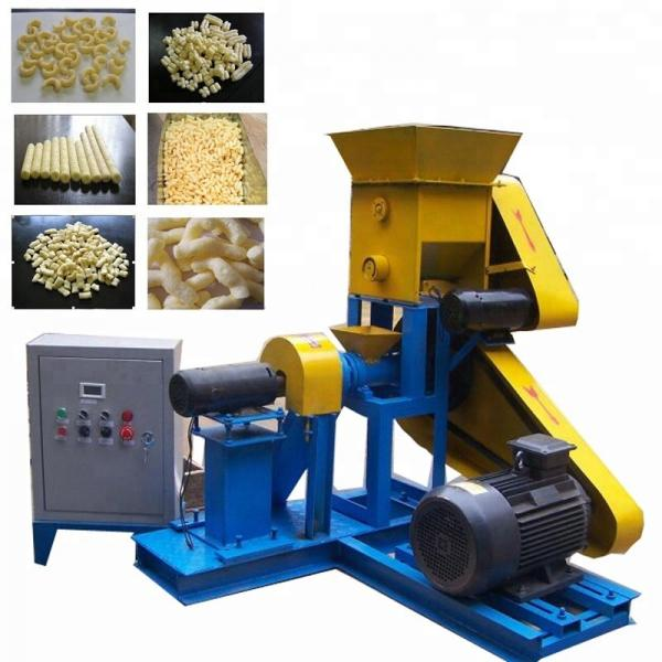 Automatic Double Screw Corn Flour Snacks Extruder/Cheap Puffed Corn Snacks Machine for Factory #1 image