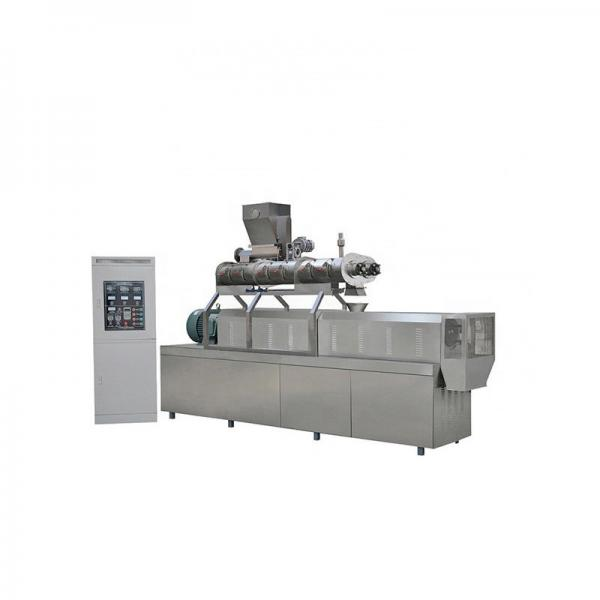 Automatic Cereal Basing Puffed Dry Pet Dog Cat Brid Kibble Food Fish Feed Manufacturer Processing Line Machines Prices #1 image