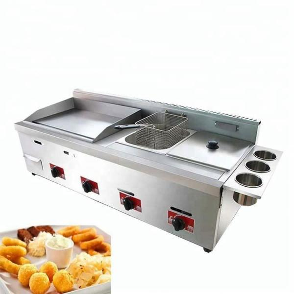 Commercial Table Top Automatic Gas Deep Fryer #1 image