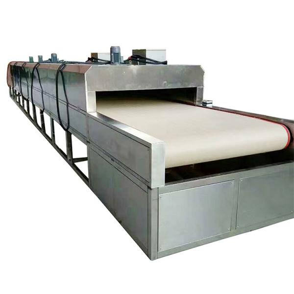 Large Industrial Continuous Microwave Mesh Belt Dryer #1 image