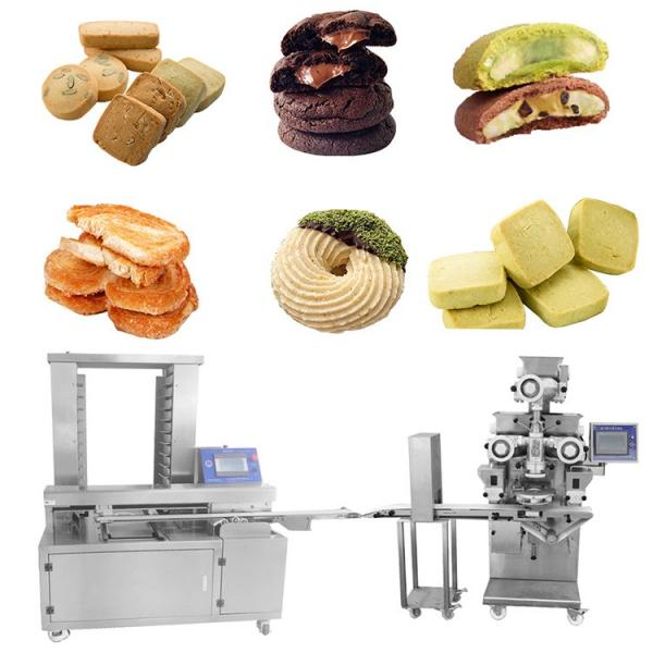 High Speed Industrial Automatic Cookies Feeding and Packaging Line/Automatic Wafer Biscuit Feeding and Packing Line/Automatic Production Line for Biscuit Cake #1 image